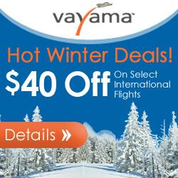 Vayama.com - Fall Festival Deals