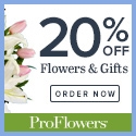20% off Easter Flowers & Gifts at ProFlowers (min $39)