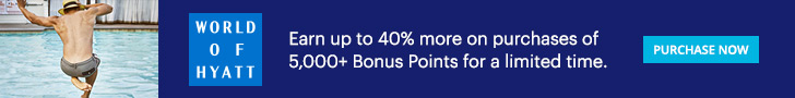 Buy Hyatt Points - 40% Bonus