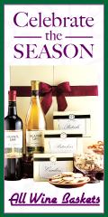Fresh Fruit & Wine Gift Baskets