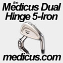 The Medicus Dual Hinged 5 Iron