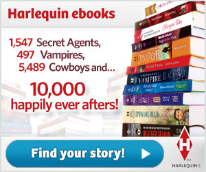 Save every day with ebooks from Harlequin!