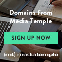 Domains from Media Temple