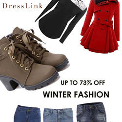 Up to 73% off Winter Fashion