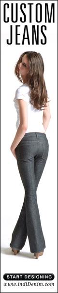 Custom jeans. Start designing.