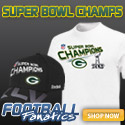 Packers are Super Bowl Champs - get your gear!