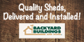 Quality Sheds Delivered and Installed