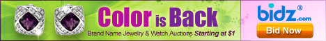 Spring color jewelry is now at Bidz - WIN & SAVE