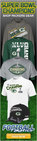 Get your Packers' Super Bowl Champs Gear