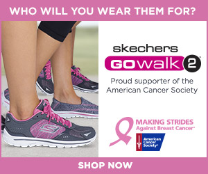 Skechers Performance supports American Cancer Society's fight against Breast Cancer. Shop the limite