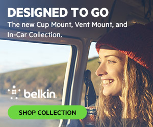 NEW Belkin In Car Collection 300x250