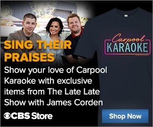 Buy Official James Corden Carpool Karoke Merch Now!