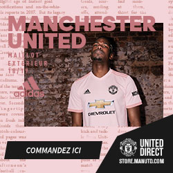 Maillots Officiels Man United