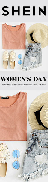 160x600 Celebrate International Women's Day with OVER 2000+ items to choose from at us.SheIn.com