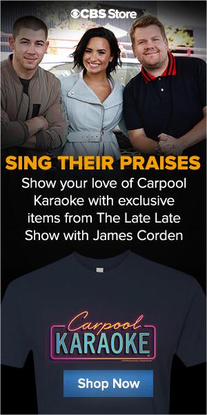 Buy Official James Corden Carpool Karoke Merch Now!
