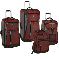 -Timberland Danvers River 4 Piece Luggage Set Now Only $259.97 Org. $1,340.00 Plus Free Shipping Use Promo Code TBDR at checkout.-