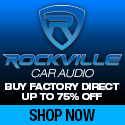 Save up to 75% on Rockville Car Audio Gear