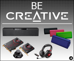 Be Creative. Speakers, Headphones and more on Sale NOW!