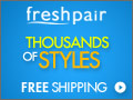 Green Freshpair Rotating Banner