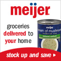 Meijer groceries delivered to your doorstep.