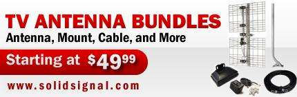 HDTV Antenna Bundles As low as $49