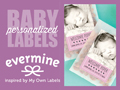 Custom Baby Labels and Tags