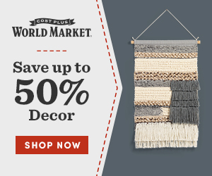 Save up to 50% on decor