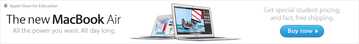Apple Macbook Air - get Apple education pricing