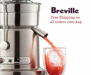 Breville Juicers, Free Shipping for All Juicers