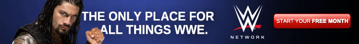 WWE Network Roman Reigns 728x90