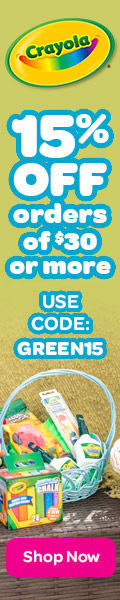 15% OFF orders of $30 or more Use Code:GREEN15