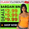 FREE Shipping at ClassicCloseouts.com!