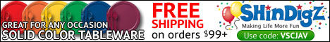 Free Shipping at Shindigz!