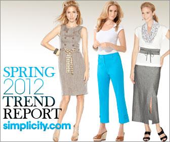 Simplicity.com Spring 2012 Fashion Trend Report
