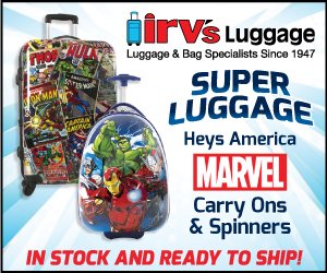 Super Luggage - Marvel Carry Ons & Spinners
