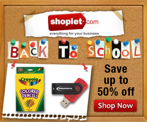 Shoplet Has All Your Back To School Supplies