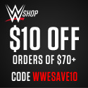 WWE Shop - $10 off