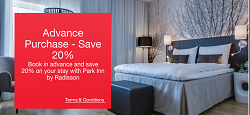 Save 20% When You Book in Advance with Park Inn