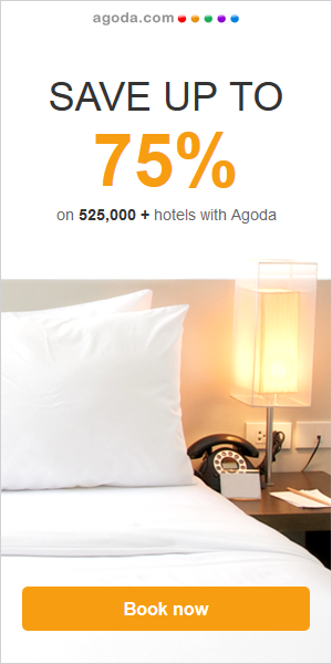 Agoda - Save up to 75%
