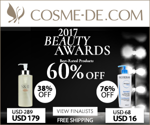 Cosme-de Coupon Code - Up to 80% Off with Free Worldwide Shipping!