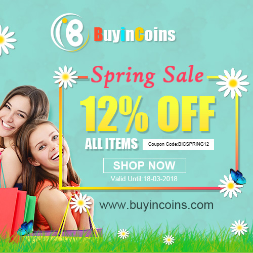 Spring Sale-All Items 12% OFF !