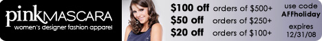 Tiered Discounts at Pink Mascara code=Affprefall