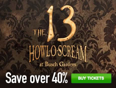 Howl-O-Scream at Busch Gardens - Save Over 40% on Tickets!