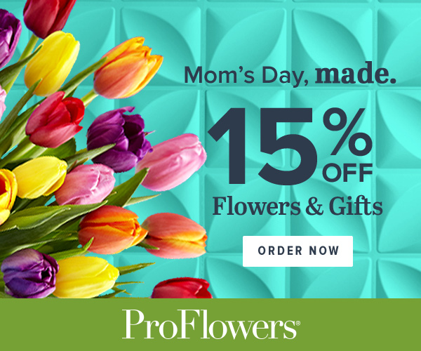 15% off Mother's Day Flowers Deals & Gifts at ProFlowers