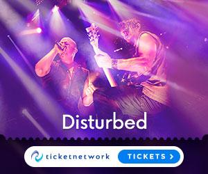 Disturbed biljetter
