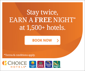 Stay Twice and Earn a Free Night at 1,500+ Hotels!*