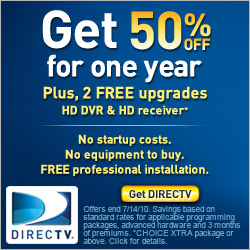 DIRECTV special offer with NFL SUNDAY TICKET!