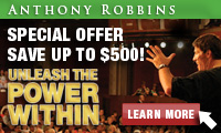 $300 off Tony Robbins UPW tickets for New York in March 2009