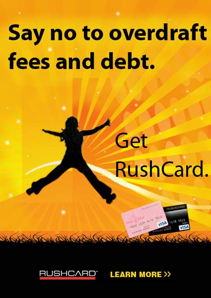 RushCard is the Way to Go!