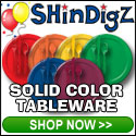 Solid Color Tableware, Great for any occasion